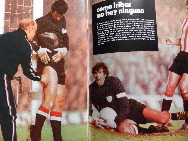 Coleccionismo deportivo: REVISTA DON BALON EXTRA LAS MEJORES FOTOS DEL FUTBOL ESPAÑOL - JUNIO 1977 RESUMEN LIGA 76/77 - Foto 7 - 54910109