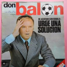 Coleccionismo deportivo: DON BALON Nº 2 1975 POSTER BREITNER SEGUNDA REVISTA NUMERO DOS COLECCIONISTA KUBALA LUIS ARAGONES. Lote 54910853
