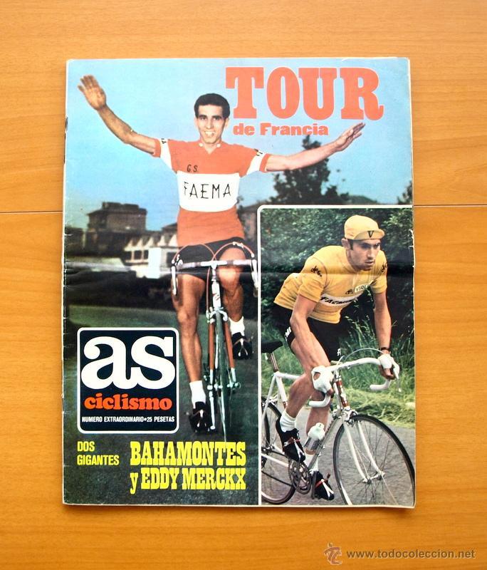 CICLISMO - AS COLOR JUNIO-JULIO 1971 - DEDICADO EN SU TOTALIDAD AL TOUR, SU HISTORIA HASTA ENTONCES (Coleccionismo Deportivo - Revistas y Periódicos - Mundo Deportivo)