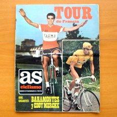 Coleccionismo deportivo: CICLISMO - AS COLOR JUNIO-JULIO 1971 - DEDICADO EN SU TOTALIDAD AL TOUR, SU HISTORIA HASTA ENTONCES. Lote 54979791