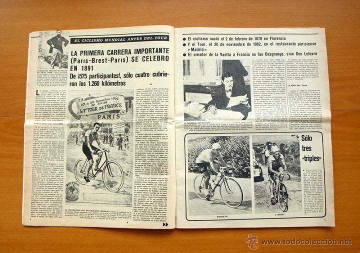 Coleccionismo deportivo: Ciclismo - AS Color Junio-Julio 1971 - Dedicado en su totalidad al Tour, su historia hasta entonces - Foto 2 - 54979791