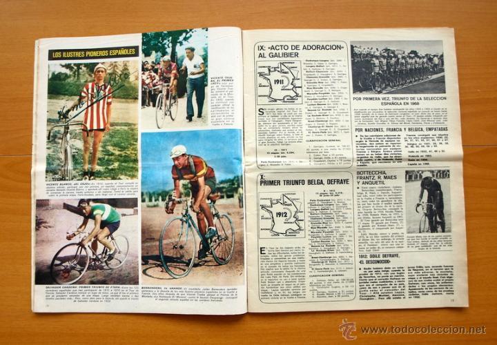 Coleccionismo deportivo: Ciclismo - AS Color Junio-Julio 1971 - Dedicado en su totalidad al Tour, su historia hasta entonces - Foto 3 - 54979791