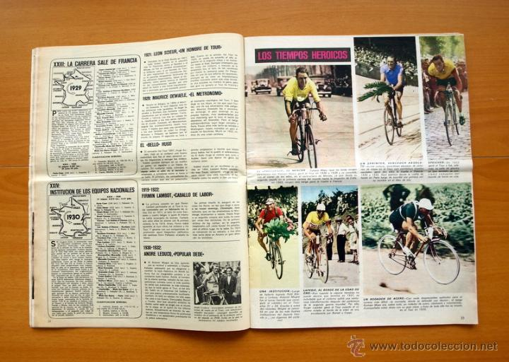 Coleccionismo deportivo: Ciclismo - AS Color Junio-Julio 1971 - Dedicado en su totalidad al Tour, su historia hasta entonces - Foto 4 - 54979791