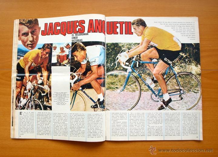 Coleccionismo deportivo: Ciclismo - AS Color Junio-Julio 1971 - Dedicado en su totalidad al Tour, su historia hasta entonces - Foto 5 - 54979791