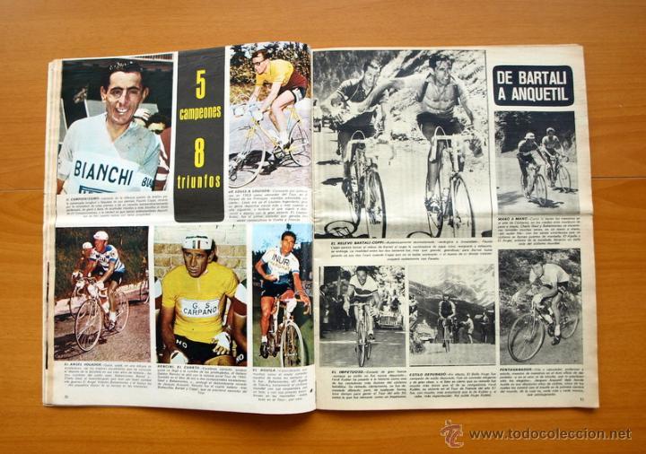 Coleccionismo deportivo: Ciclismo - AS Color Junio-Julio 1971 - Dedicado en su totalidad al Tour, su historia hasta entonces - Foto 6 - 54979791