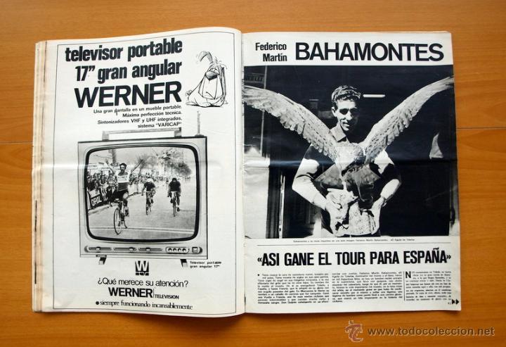Coleccionismo deportivo: Ciclismo - AS Color Junio-Julio 1971 - Dedicado en su totalidad al Tour, su historia hasta entonces - Foto 8 - 54979791