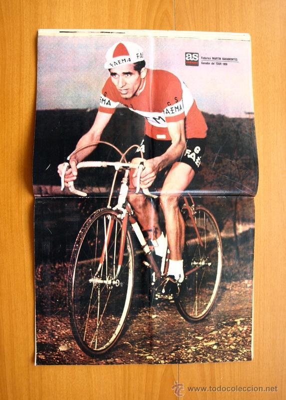 Coleccionismo deportivo: Ciclismo - AS Color Junio-Julio 1971 - Dedicado en su totalidad al Tour, su historia hasta entonces - Foto 9 - 54979791