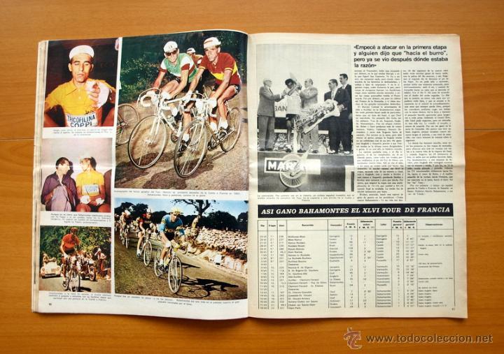 Coleccionismo deportivo: Ciclismo - AS Color Junio-Julio 1971 - Dedicado en su totalidad al Tour, su historia hasta entonces - Foto 11 - 54979791