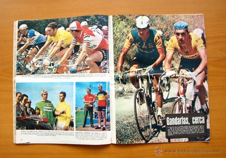 Coleccionismo deportivo: Ciclismo - AS Color Junio-Julio 1971 - Dedicado en su totalidad al Tour, su historia hasta entonces - Foto 12 - 54979791