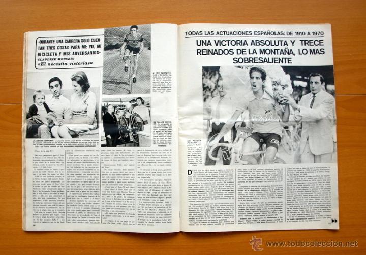 Coleccionismo deportivo: Ciclismo - AS Color Junio-Julio 1971 - Dedicado en su totalidad al Tour, su historia hasta entonces - Foto 13 - 54979791