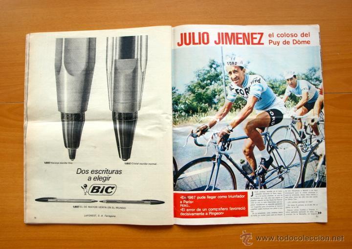 Coleccionismo deportivo: Ciclismo - AS Color Junio-Julio 1971 - Dedicado en su totalidad al Tour, su historia hasta entonces - Foto 14 - 54979791