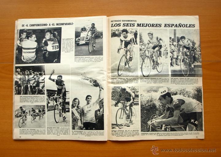 Coleccionismo deportivo: Ciclismo - AS Color Junio-Julio 1971 - Dedicado en su totalidad al Tour, su historia hasta entonces - Foto 16 - 54979791