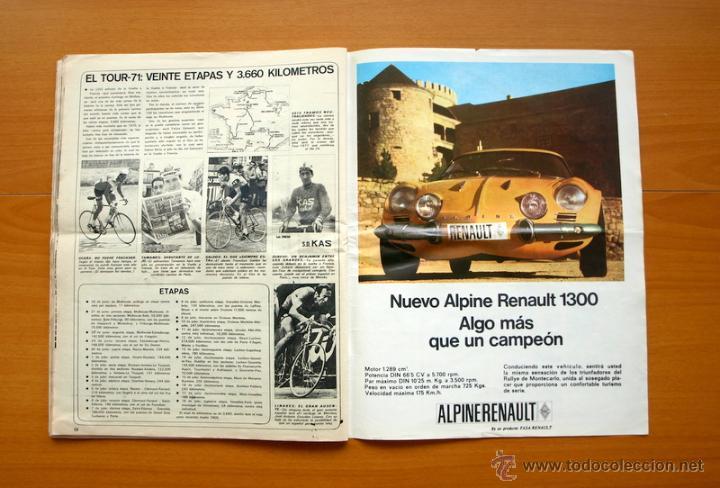 Coleccionismo deportivo: Ciclismo - AS Color Junio-Julio 1971 - Dedicado en su totalidad al Tour, su historia hasta entonces - Foto 17 - 54979791