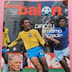 Coleccionismo deportivo: REVISTA DON BALON Nº 215 ESPECIAL REAL SOCIEDAD 79/80 POSTER ALINEACION LIGA 1979/1980 ARCONADA. Lote 54995364