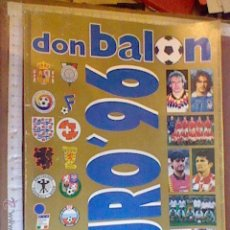 Coleccionismo deportivo: REVISTA DON BALON EURO ´ 96 EUROCOPA 1996 AÑO XXII EXTRA 32 . Lote 55002203