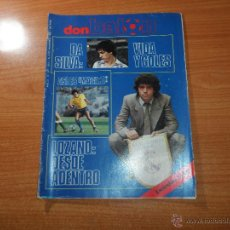 Coleccionismo deportivo: DON BALON Nº 421 1983 PORTADA REPORTAJE COLOR LOZANO REAL MADRID MAGICO GONZALEZ CADIZ. Lote 125748098