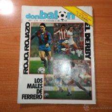 Coleccionismo deportivo: DON BALON Nº 440 1984 COLOR BARCELONA VS MANCHESTER UNITED - REAL MADRID VS ATLETICO MADRID. Lote 55007228