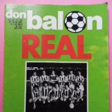 Coleccionismo deportivo: REVISTA DON BALON Nº 290 REAL SOCIEDAD CAMPEON DE LIGA 80/81 - ESPECIAL 1980/1981 ARCONADA. Lote 55013896