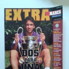 Coleccionismo deportivo: PERIODICO DIARIO MARCA EXTRA 1997 RAUL GONZALEZ BLANCO LIGA DE CAMPEONES REAL MADRID BARCELONA. Lote 55034401
