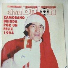 Coleccionismo deportivo: REVISTA DON BALON , AÑO XVIII, Nº 947, 21 AL 27 DIC 1993, POSTER REAL MADRID CAMPEON SUPERCOPA.. Lote 55318410