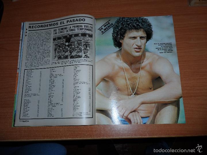 Coleccionismo deportivo: DON BALON N 224 1980 REPORTAJE COLOR MIGUEL ANGEL REAL MADRID KEMPES SOLSONA VALENCIA OLIVEIRA BETIS - Foto 2 - 54207458
