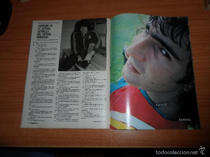 Coleccionismo deportivo: DON BALON N 224 1980 REPORTAJE COLOR MIGUEL ANGEL REAL MADRID KEMPES SOLSONA VALENCIA OLIVEIRA BETIS - Foto 4 - 54207458