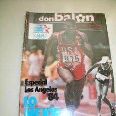 Coleccionismo deportivo: DON BALÓN Nº 463, DEL 21 AL 27 DE AGOSTO DE 1984. Lote 55879979