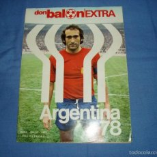 Coleccionismo deportivo: DON BALON EXTRA. REVISTA DE FUTBOL. ABRIL - MAYO. 1978. ARGENTINA 1978.. Lote 56026752