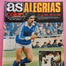 Coleccionismo deportivo: REVISTA AS COLOR Nº 519 REAL SOCIEDAD CAMPEON LIGA 80/81 TEMPORADA 1980 1981 MADRID COPA EUROPA. Lote 56084422