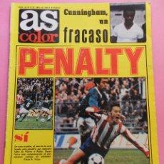 Coleccionismo deportivo: REVISTA AS COLOR Nº 465 POSTER ARCONADA 79/80 REAL SOCIEDAD RECORD LIGA 1979/1980 ARKONADA. Lote 71490954