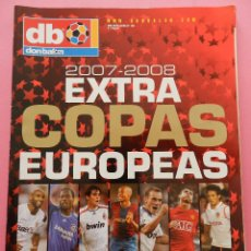Coleccionismo deportivo: REVISTA EXTRA COPAS EUROPEAS 2007-2008 GUIA DON BALON CHAMPIONS LEAGUE UEFA 07/08 LIGA CAMPEONES. Lote 56171158