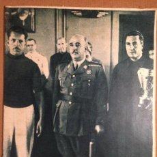 Coleccionismo deportivo: SUPLEMENTO GRÁFICO MARCA - 1941 - EL CAUDILLO PRESIDE LAS PRUEBAS DE BALANDROS - REGATAS CORUÑA. Lote 56217967