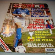 Coleccionismo deportivo: DON BALÓN Nº 1016 - PROSINECKI - FIGO - PÓSTER AMAVISCA . Lote 56219184