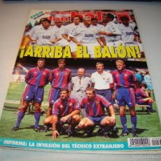 Coleccionismo deportivo: DON BALÓN Nº 1010 - PÓSTER FIGO . Lote 56219269