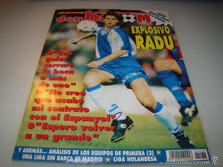 DON BALÓN Nº 1038 - RADU - PÓSTER DEPORTIVO CAMPEÓN DE LA SUPERCOPA (Coleccionismo Deportivo - Revistas y Periódicos - Don Balón)