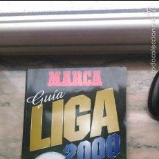 Coleccionismo deportivo: GUIA MARCA 2000. Lote 56243744