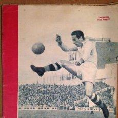 Coleccionismo deportivo: SUPLEMENTO GRAFICO MARCA -1945- PORTADA QUEREJETA - REAL MADRID. Lote 56244241