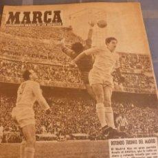 Coleccionismo deportivo: MARCA(13-5-58) FINAL COPA INGLATERRA, MANCHESTER UTD. 0 BOLTON 2 !!! COPA R.MADRID 4 AT.MADRID 0!!!. Lote 56470245