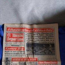Coleccionismo deportivo: EL MUNDO DEPORTIVO / 1966 / EL MADRID LÍDER SOLITARIO.... Lote 56552117