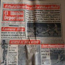 Coleccionismo deportivo: EL MUNDO DEPORTIVO / 1966 / EL MADRID LÍDER SOLITARIO.... Lote 56552156