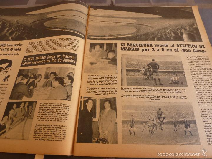 Coleccionismo deportivo: MARCA(7-2-61)LIGA EN 1ª DIVISION,FUTBOL POR EL MUNDO,BRIGHTON-BURNLEY,HIPODROMO ZARZUELA-FOTOS - Foto 3 - 56575142