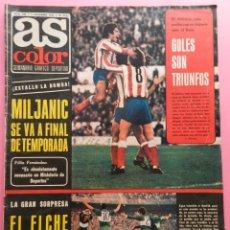 Collectionnisme sportif: REVISTA AS COLOR Nº 238 POSTER CF TARRASA 75/76-BIO-MASDEFIOL-URTAIN BOXEO-TERRASSA-1975/1976. Lote 56625351