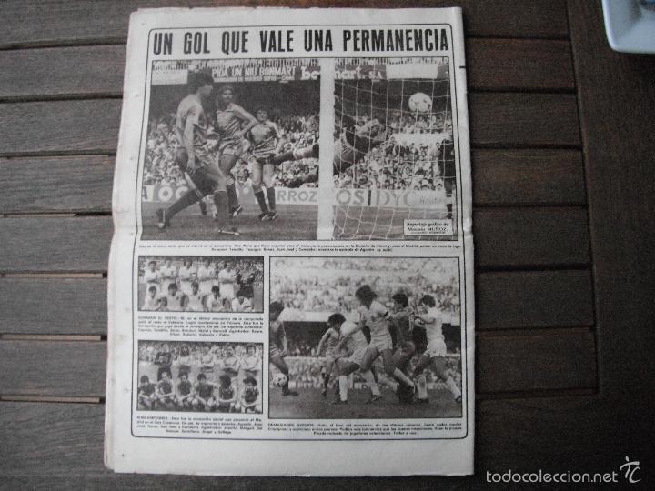Coleccionismo deportivo: PERIÓDICO AS. ATHLETIC CAMPEÓN DE LIGA. 2-5-83 - Foto 4 - 56673102