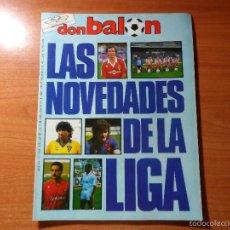 Coleccionismo deportivo: DON BALON Nº 563 1986 COLOR NOVEDADES 86 87 MURCIA - CADIZ - ATLETICO MADRID - REAL MADRID - BUYO -. Lote 56680774