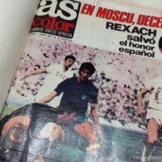 Coleccionismo deportivo: AS COLOR SEMANARIO DE LA NUMERO 2 A LA 51, EN TRES TOMOS. Lote 56706575