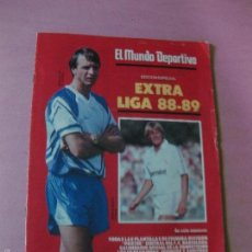 Coleccionismo deportivo: EL MUNDO DEPORTIVO EXTRA LIGA 1988-1989. POSTER PLANTILLA F.C. BARCELONA PAGINAS CENTRALES . Lote 56892828