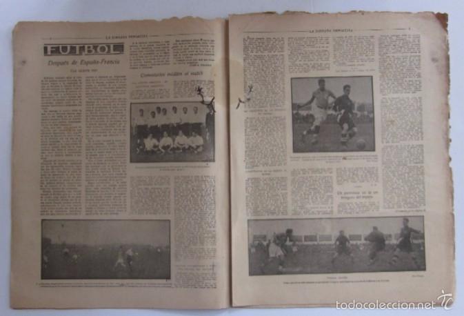 Coleccionismo deportivo: LA JORNADA DEPORTIVA - AÑO 1922 - PAULINO ALCANTARA - Foto 2 - 56903440