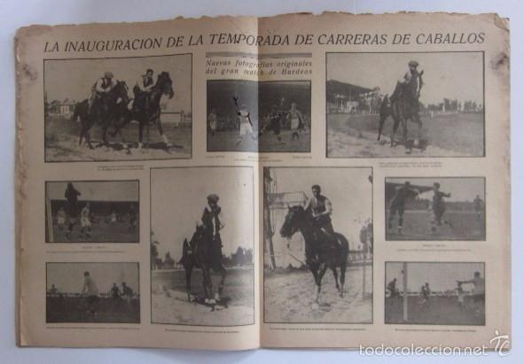 Coleccionismo deportivo: LA JORNADA DEPORTIVA - AÑO 1922 - PAULINO ALCANTARA - Foto 3 - 56903440