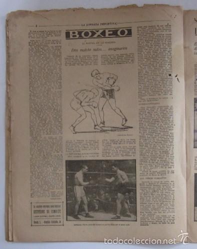 Coleccionismo deportivo: LA JORNADA DEPORTIVA - AÑO 1922 - PAULINO ALCANTARA - Foto 4 - 56903440