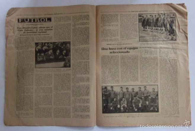 Coleccionismo deportivo: LA JORNADA DEPORTIVA - AÑO 1922 - EL ENCUENTRO GUIPUZCOA - CATALUÑA - Foto 3 - 56903528